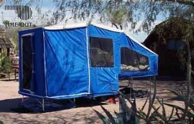Motorcycle Camper    Trailer      Time Out Deluxe Camper   Addon s