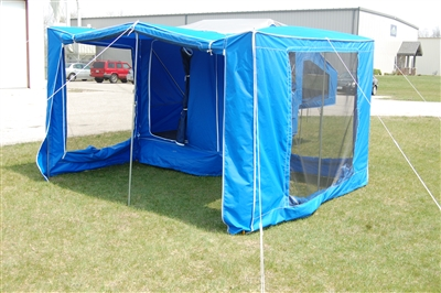 Time Out Trailers Wrap Around Camper Screen Room